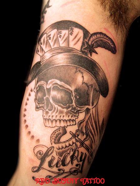 スカル skull    (タトゥー tattoo  画像 デザイン)