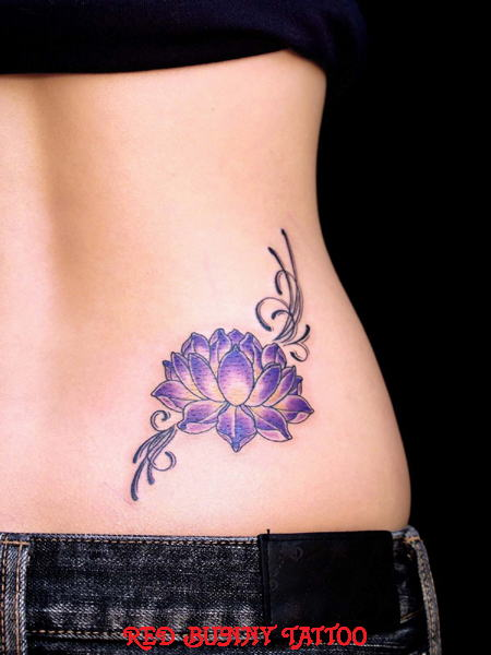 蓮 lotus    (タトゥー tattoo  画像 デザイン)