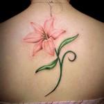 花 flower  (刺青 タトゥー tattoo 画像 デザイン)