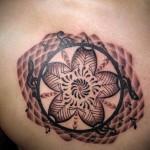 オリエンタル 桜 (ガールズ  タトゥー tattoo 画像 デザイン)