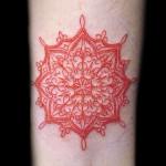 オリエンタル 太陽(ガールズ  タトゥー tattoo 画像 デザイン)