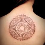 オリエンタル  (ガールズ  タトゥー tattoo 画像 デザイン)