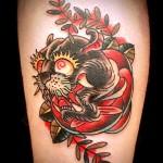 パンサー    (刺青  タトゥー tattoo 画像 デザイン)