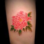 牡丹   (刺青 タトゥー tattoo 画像 デザイン)