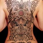 オリエンタル トライバル    (女性  タトゥー tattoo 画像 デザイン)