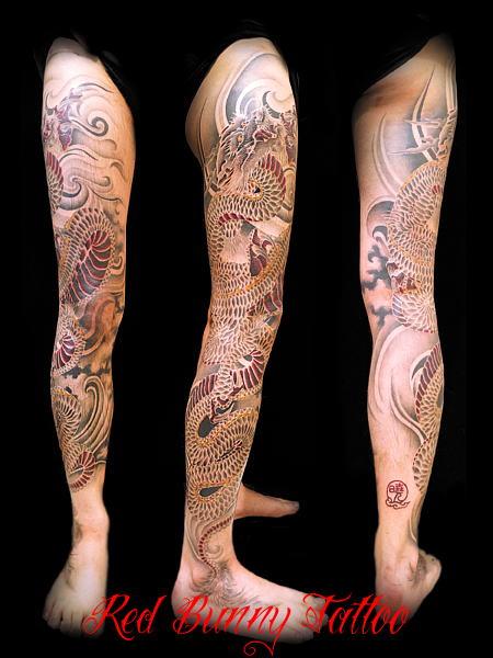 龍,和彫り,刺青,タトゥー,tattoo,画像,デザイン