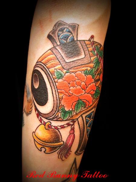 打ち出の小槌,刺青,タトゥー,tattoo,画像,デザイン