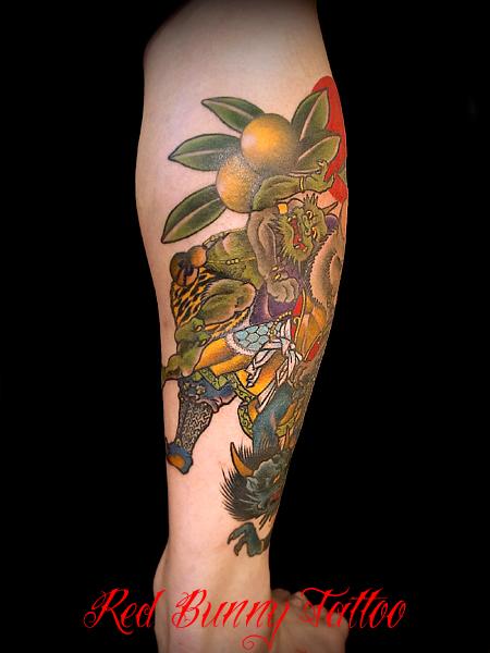 ねずみ,刺青,タトゥー,tattoo,画像,デザイン
