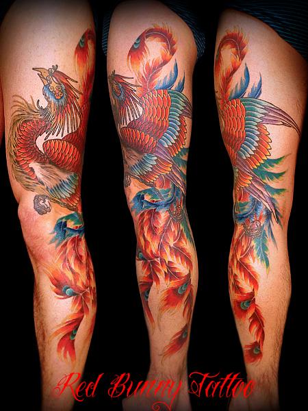 鳳凰,刺青,タトゥー,tattoo,画像,デザイン