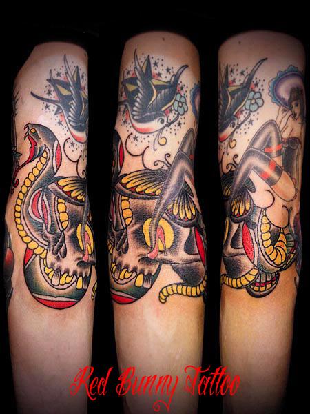 蛇 タトゥー tattoo 画像 デザイン snake