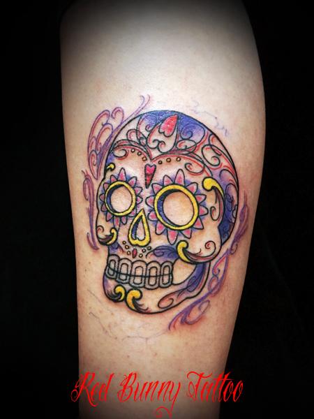 シュガースカル メキシカンスカルメキシカンスカル skull tattoo