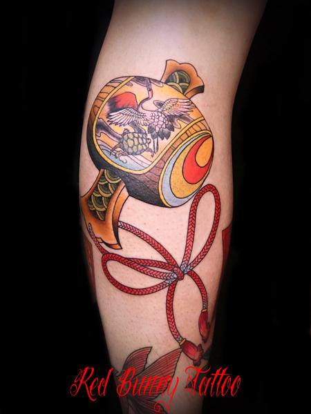 打ち出の小槌 刺青 タトゥー 和柄 デザイン 画像