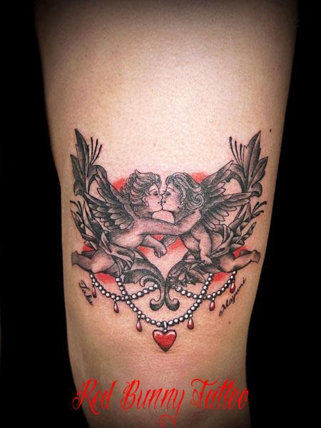 天使 タトゥーデザイン,画像