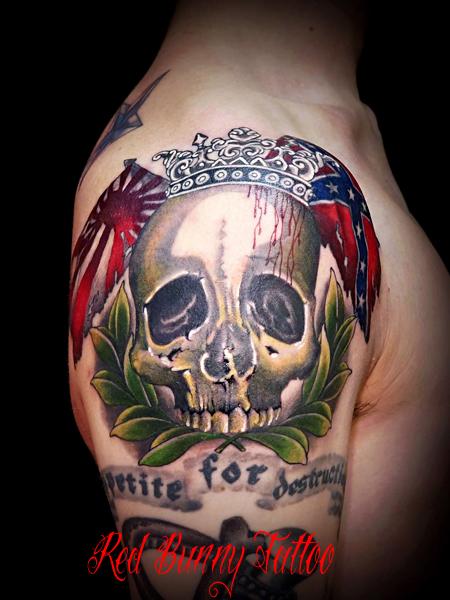 tattoo skull スカル タトゥー