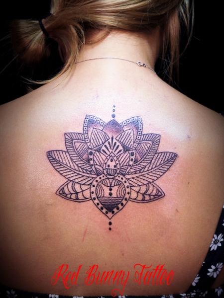 lotus oriental tattoo 蓮・オリエンタルタトゥーデザイン girl tattoo