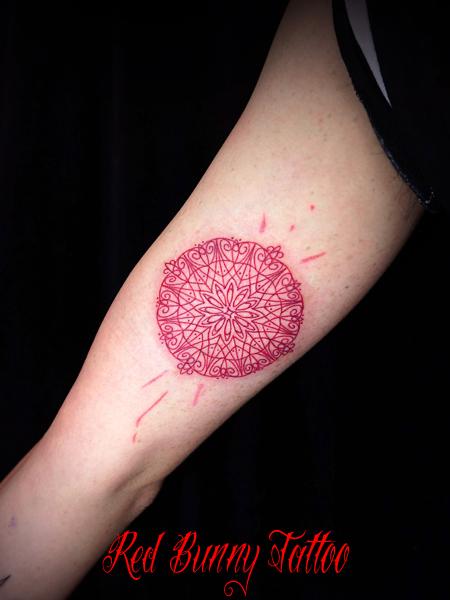 オリエント・ヘナ・アラベスク・曼荼羅文様 タトゥーデザイン ワンポイントタトゥー
