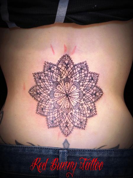 オリエント・アラベスク模様 タトゥーデザイン oriental tribal tattoo