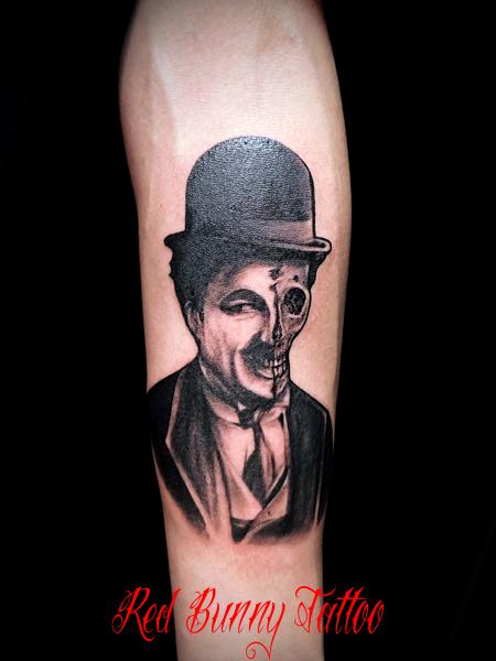 チャップリン タトゥーデザイン Chaplin-tattoo