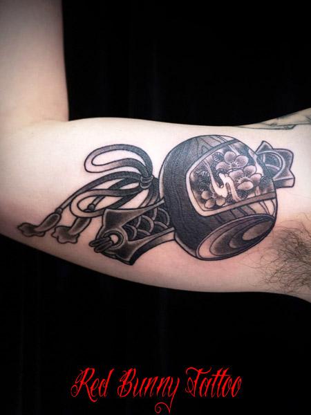 打ち出の小槌 タトゥーデザイン・刺青