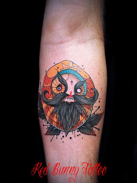 マグヌスのタトゥーデザイン magnus tattoo design