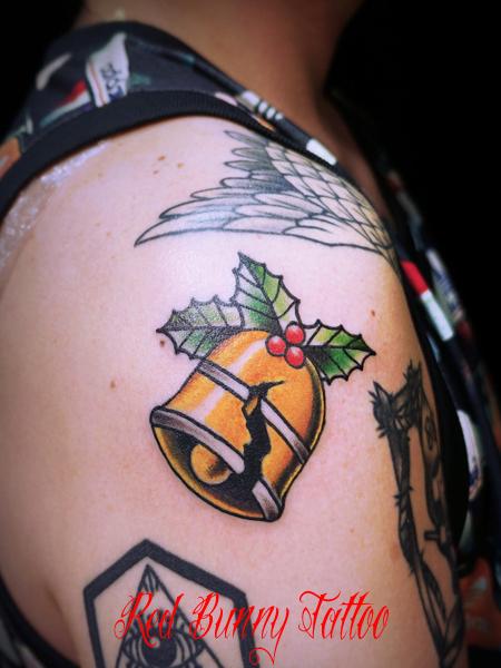 自由の鐘のタトゥーデザイン Liberty Bell tattoo