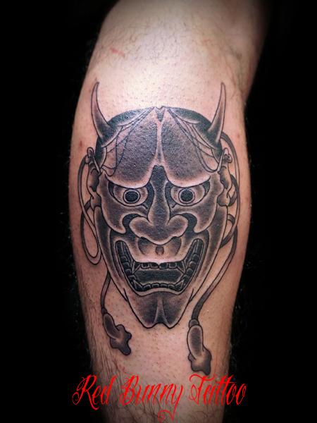 般若の刺青・タトゥーデザイン