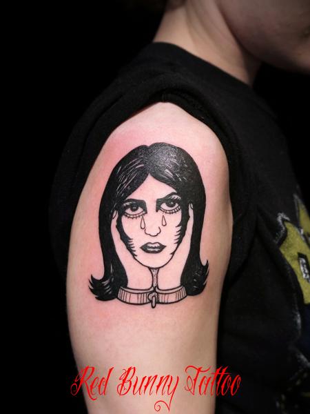 タトゥー デザイン tattoo girl 女性 女囚