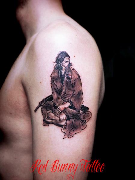 バガボンド 宮本武蔵のタトゥーデザイン