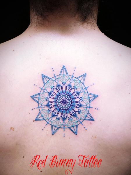 曼荼羅模様 オリエント模様のタトゥーデザイン
