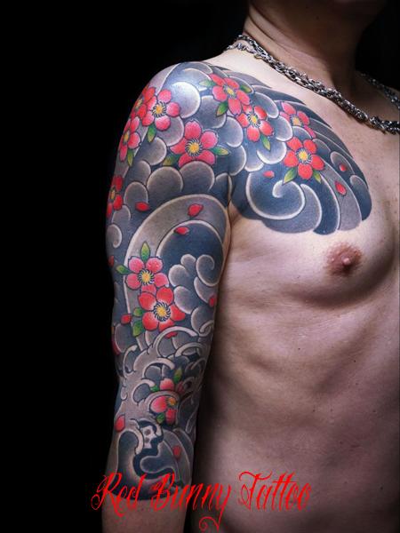 らし 刺青・和彫りのデザイン  tattoo japanese style irezumi