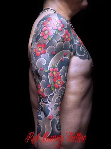 らし 刺青・和彫りのデザイン  tattoo japanese style irezumi (2)