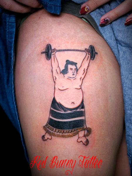 相撲 関取 刺青 タトゥーデザイン sumo wrestler