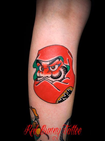 ダルマ 達磨 daruma 刺青 タトゥーデザイン japanese tattoo