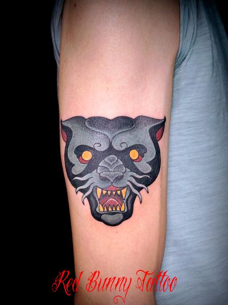 黒豹 パンサー タトゥーデザイン panther tattoo